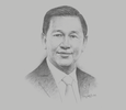 Sketch of Liew Mun Leong, Chairman, Changi Airport Group