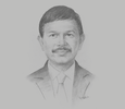 Sketch of Johnny Plate, Minister of Communication and Information Technology