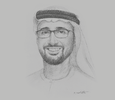 Sketch of Tariq Bin Hendi, Director-General, Abu Dhabi Investment Office (ADIO)
