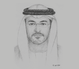 Sketch of Falah Mohammad Al Ahbabi, Chairman, Abu Dhabi Department of Municipalities and Transport (DMT)