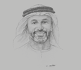 Sketch of Saeed Al Remeithi, CEO, Emirates Steel