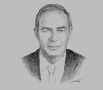 Sketch of Yehia Zaki, Chairman, Suez Canal Economic Zone