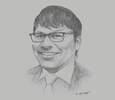Sketch of Jonathan Seeto, Managing Partner, PwC Papua New Guinea