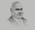 Sketch of Clarence Hoot, Managing Director, Investment Promotion Authority (IPA)