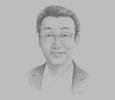 Sketch of Alfred Yau, Director, Papindo