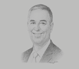 Sketch of James Rice, Group CEO, Paradise Foods