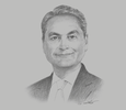 Sketch of Sanjiv Vohra, President and CEO, Security Bank