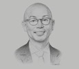 Sketch of Christopher Po, Executive Chairman, Century Pacific Food