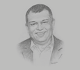 Sketch of Tony Fernandes, CEO, AirAsia Group