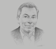 Sketch of Marc Carrel-Billiard, Global Senior Managing Director and Technology Innovation Lead, Accenture Labs