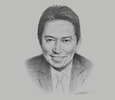 Sketch of Eugenio Ramos, President and CEO, The Medical City