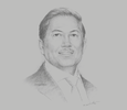 Sketch of Raoul R Angangco, Senior Partner, Villaraza & Angangco Law