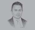 Sketch of Adnan Chilwan, Group CEO, Dubai Islamic Bank (DIB)