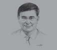 Sketch of Asher Bohbot, CEO, EOH Holdings