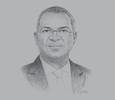 Sketch of Babatunde Fashola, Minister of Power, Works and Housing