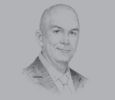 Sketch of Brent Heimann, CEO, Arab Potash Company (APC)