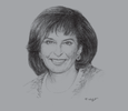 Sketch of Donna Oosthuyse, Director of Capital Markets, Johannesburg Stock Exchange