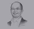 Sketch of Eric Vemer, CEO, Group Five