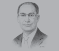 Sketch of Ibrahim Saif, Minister of Energy and Mineral Resources