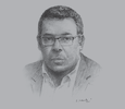 Sketch of Ivan Pomaleu, Managing Director, Investment Promotion Authority (IPA)