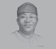 Sketch of Kayode Fayemi, Minister of Mines and Steel Development