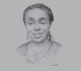 Sketch of Kemi Adeosun, Minister of Finance