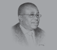 Sketch of H A Kofi Wampah, Governor, Bank of Ghana (BoG)