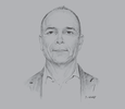 Sketch of Michael Donnelly, CEO, Telikom