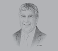 Sketch of Michael Johnston, President and CEO, Nautilus Minerals