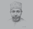 Sketch of Mohammed Kari, Commissioner for Insurance, National Insurance Commission (NAICOM)