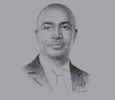 Sketch of Nathaniel Otoo, Chief Executive, National Health Insurance Scheme (NHIS)