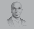 Sketch of Oscar Onyema, CEO, Nigerian Stock Exchange (NSE)
