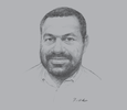 Sketch of Robert Nilkare, Country Manager, New Britain Palm Oil Limited