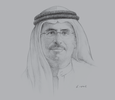 Sketch of Saeed Mohammed Al Tayer, Managing Director and CEO, Dubai Electricity and Water Authority (DEWA)