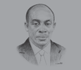 Sketch of Seth Terkper, Minister of Finance