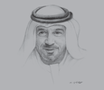Sketch of Sheikh Ahmed bin Saeed Al Maktoum, Chairman, Dubai Airports; President, Dubai Civil Aviation Authority; and Chairman and CEO, Emirates Group