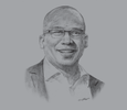 Sketch of Sifiso Dabengwa, Former Group CEO, MTN
