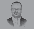 Sketch of Sulemanu Koney, CEO, Ghana Chamber of Mines