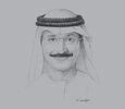 Sketch of <p>Sultan Ahmed bin Sulayem, Group Chairman and CEO, DP World; and President, Dubai Maritime City Authority</p>
