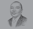 Sketch of TP Nchocho, CEO, Land and Agricultural Development Bank of South Africa