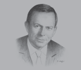 Sketch of Tony Abbott, Former Prime Minister of Australia, on Australia's deepening relationship with the Gulf states
