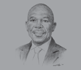 Sketch of Lesetja Kganyago, Governor, South African Reserve Bank