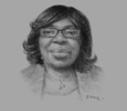 Sketch of Lydia Lariba Bawa, Commissioner, National Insurance Commission (NIC)