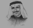 Sketch of Yousef Obaid bin Easa Al Neaimi, Chairman, Ras Al Khaimah Chamber of Commerce & Industry