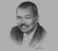 Sketch of Michaël Adande, President, Development Bank of Central African States (BDEAC)