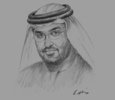 Sketch of Sultan Ahmed Al Jaber, UAE Minister of State and CEO, Masdar