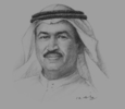 Sketch of Hussain Sajwani, Chairman, DAMAC