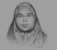 Sketch of Mariani Haji Sabtu, Acting Director, Tourism Development Department (TDD)