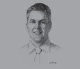 Sketch of Stephen van Coller, Chief Executive of Corporate and Investment Banking, Barclays Africa