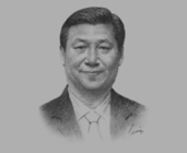 Xi Jinping, President of China, on the Asia-Pacific's ties with China